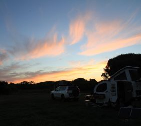 Sunset over Fitzroy River Reserve