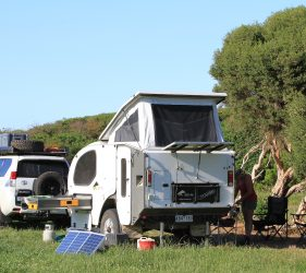Camping at Fitzroy River Reserve