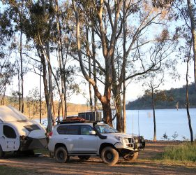 Newtons Campground, Lake Eildon