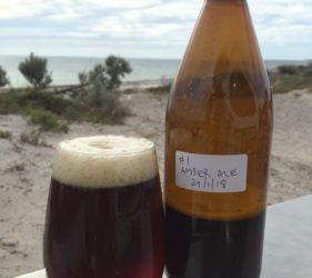 Bewitched Amber Ale at Wauraltee Beach