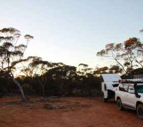 Carradoo Tanks Campsite
