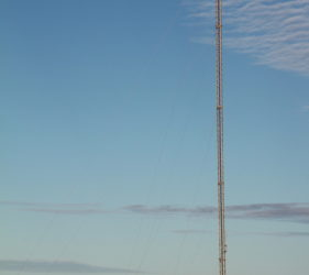 Telecommunications Tower hosting Telstra 850MHz 3G Antenna