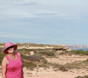 Leonie on the Great Australian Bight