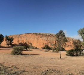 Our camp at Pildappa Rock, Minnipa, South Australia