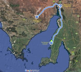 The Bamboos to Carradoo Tanks, 385 Kms