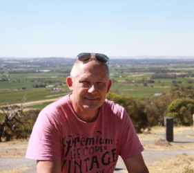 Vic at Mengler's Hill Lookout and Sculpture Park, Bethany