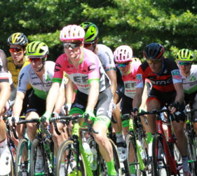 Stage 4 of Men's Tour Down Under at Gumeracha