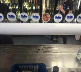 Beers on Tap at the Lobethal Bierhaus