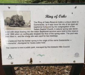 Ring of Oaks Reserve, Gumeracha