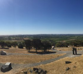 The view from Mengler's Hill Lookout and Sculpture Park, Bethany