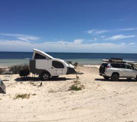 Wauraltee Beach campsite