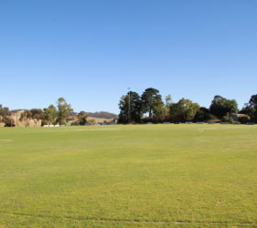 "Gumeracha Oval immaculately prepared by Ian ""Carpy"" Carpenter"