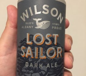 Wilson's Lost Sailor Dark Ale