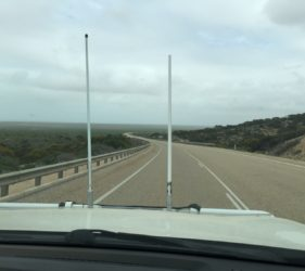 Heading west out of Eucla